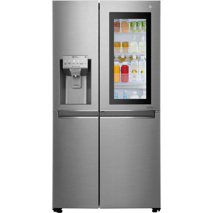 LG GSI960PZAZ - Réfrigérateur congélateur US - 601L (405+196) - Froid ventilé - A++ - L91,2cm x H179cm - Platinium