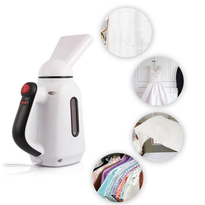 defroisseur vapeur, fer à repasser portable mini défroisseur handy