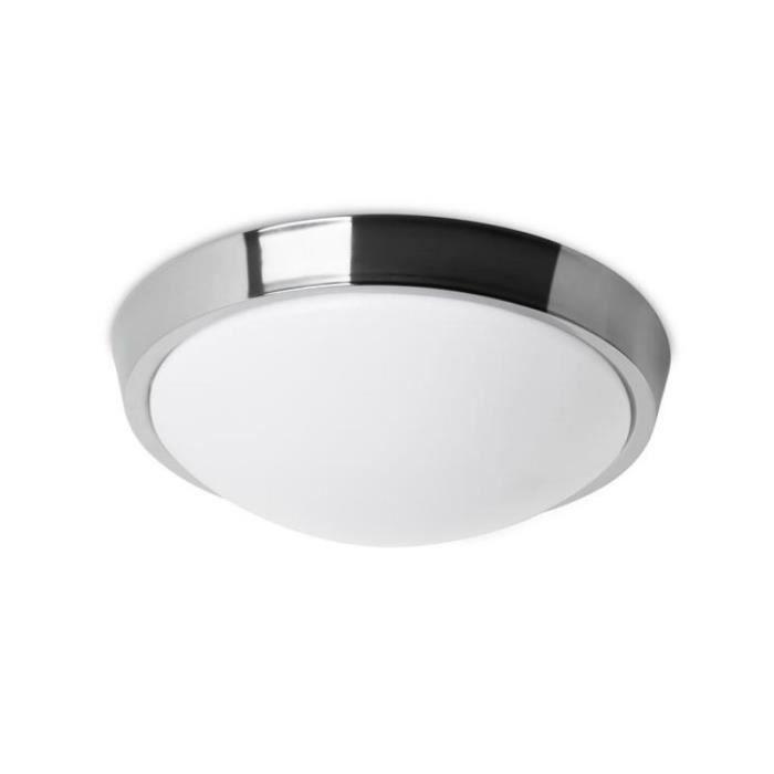 Leds C4 Plafonnier rond salle de bain Bubble LED IP44 D30 cm