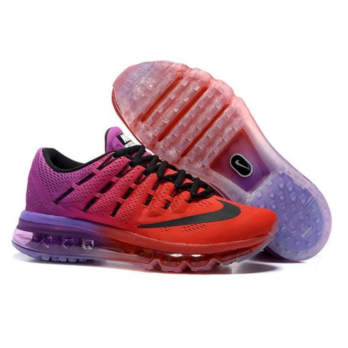 plus récent 92c0d 0a349 canada femmes nike air max 2016 or rouge ede19 25ffb
