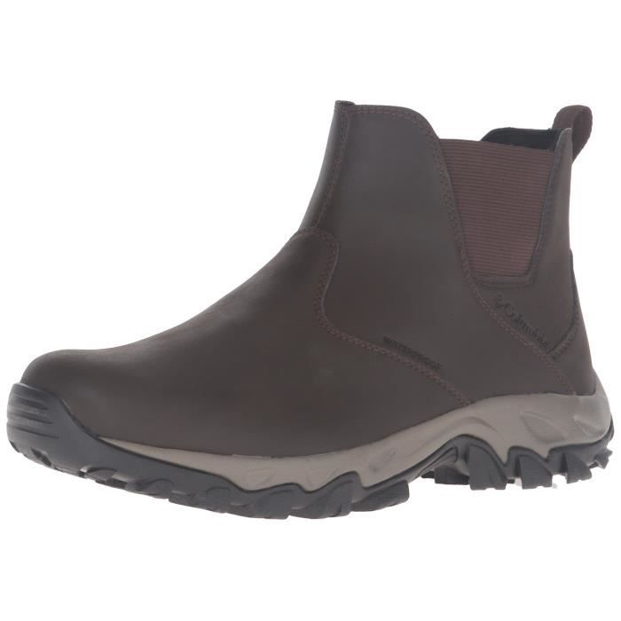 Columbia Newton Ridge Plus Waterproof Slip On Shoes NL2JT Taille-40 1-2