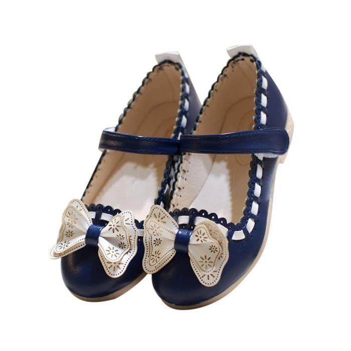 Sidneyki®Bottes d'hiver pour femmes noeud papillon en peluche chaussures de plein air bottes de neige chaud cheville BKNoir XKO719 p8E2t