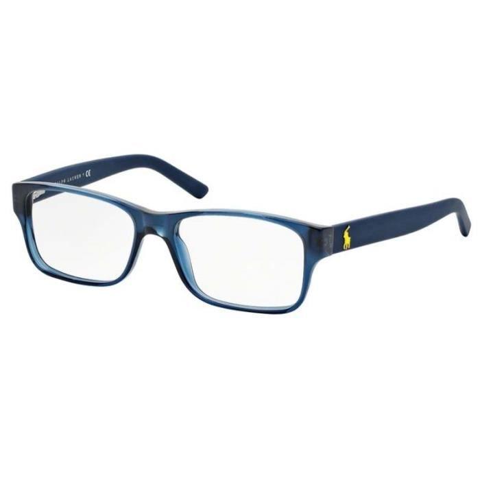 1bd908fc0f978c Lunette de vue Polo Ralph Lauren Polo Player Pop Tort PH 2117 5470 52 Bleu