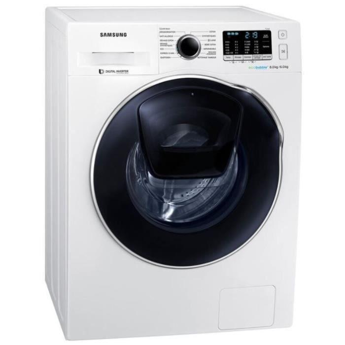 8fde3fcda78c0 Lave linge séchant Samsung WD80K5B10OW - Achat   Vente lave-linge ...