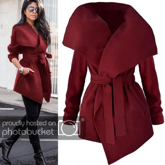 Dames Avant Manches Outwear Manteau Loose Femmes Longues Ouvert Funmoon Top Veste q0H55