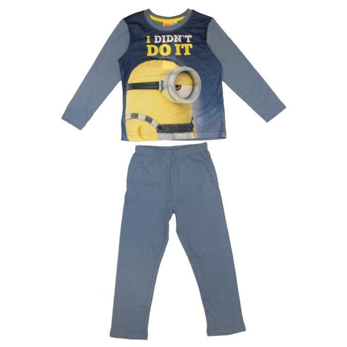 MINIONS Pyjama 161758 J - Enfant Garçon - Jaune