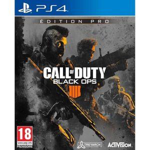 JEU PS4 NOUVEAUTÉ Call Of Duty Black Ops 4 Pro Édition Jeu PS4
