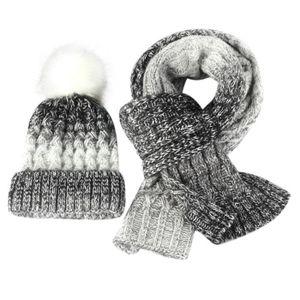 ECHARPE - FOULARD Automne Lovers hiver Bonnet tricoté Knitt écharpe ... df11fcda734