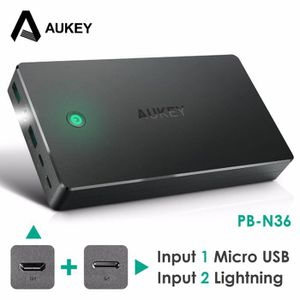 CHARGEUR - ADAPTATEUR  Power Bank Double USB 20000 mAh Batterie Externe C