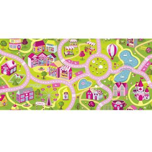 latest tapis tapis circuit fille sweet town candy tapis x uua with tapis route ikea. Black Bedroom Furniture Sets. Home Design Ideas