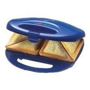 GAUFRIER . Appareil à sandwichs Clatronic ST 3477. Bleu-Ino