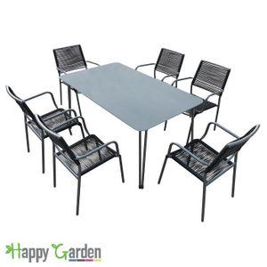 Table et chaise de jardin Inox - Achat / Vente Table et chaise de ...