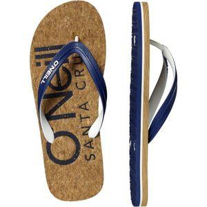 TONG O'Neill FM Profile Flip Flops Cork Sandals Brown,