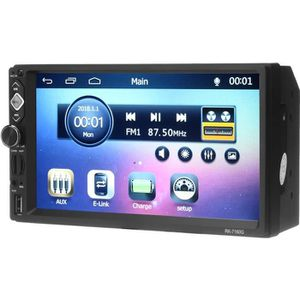 AUTORADIO NEUFU 7 Pouces 1 DIN Voiture Bluetooth GPS Autorad