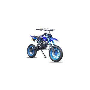MOTO Pocket cross  Apollo 49cc - Bleu - Dirt bike / Pit