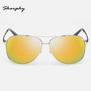 LUNETTES DE SOLEIL SHARPHY® Lunettes de soleil Homme polarisées ronde