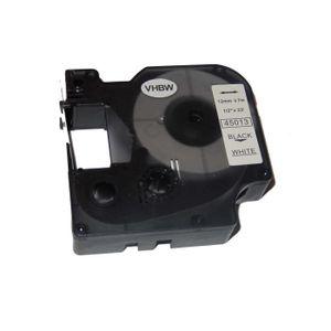 RUBAN - ENCREUR Ruban Cassette pour Dymo Labelpoint 100, 150, 200,