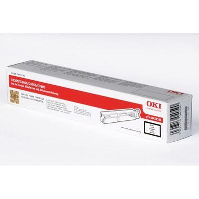 OKI Cartouche toner 43459332  -  Compatible  C3300/C3400/C3450/C3600  -  Noir  -  Haute capacité 2.500 pages