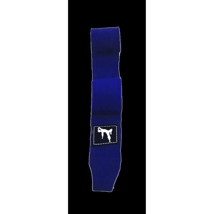 TUNTURI Bandages de boxe Bruce Lee - Conforme à la main - Bleu
