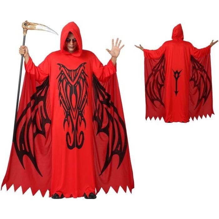 d guisement halloween demon diable homme m l achat vente d guisement panoplie cdiscount. Black Bedroom Furniture Sets. Home Design Ideas