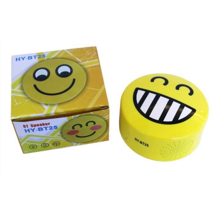 Mini Portable Mignon Emoji Émotion Haut-parleur Sans Fil Bluetooth Tf Nouvelle Carte *w393