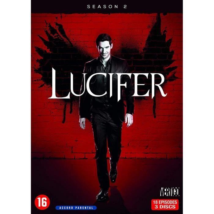 DVD SÉRIE Lucifer - Saison 2 (DVD)