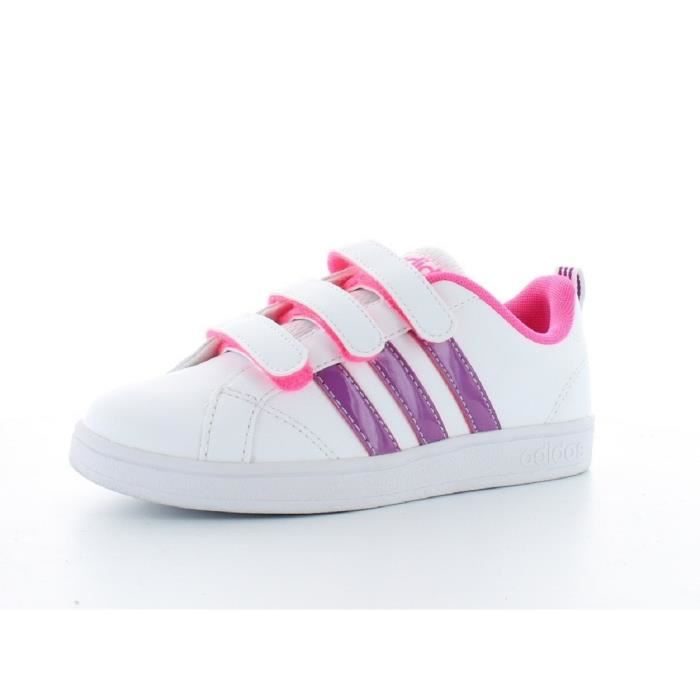 Advantage Blanc Enfant Adidas Baskets Violet Chaussures Fille Neo Et hQBsrCxtdo