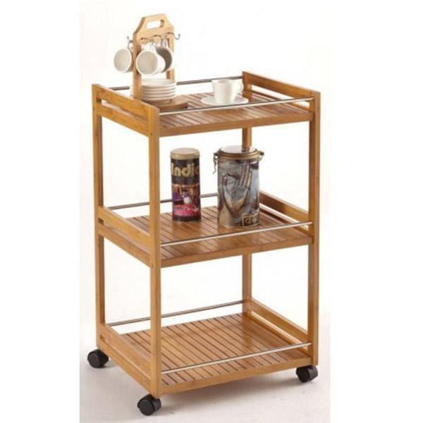 meuble de rangement cuisine salle de bain achat vente desserte billot meuble de rangement. Black Bedroom Furniture Sets. Home Design Ideas