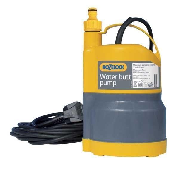 pompe immergée pour récupérateur d'eau de pluie hozelock - achat
