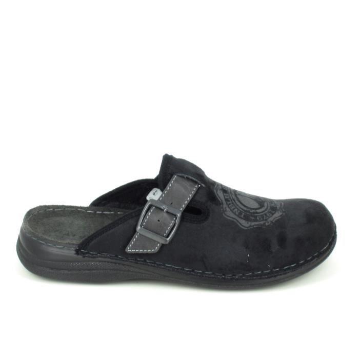 Chaussons d'intérieur-Pantoufles FARGEOT Umerlo Noir