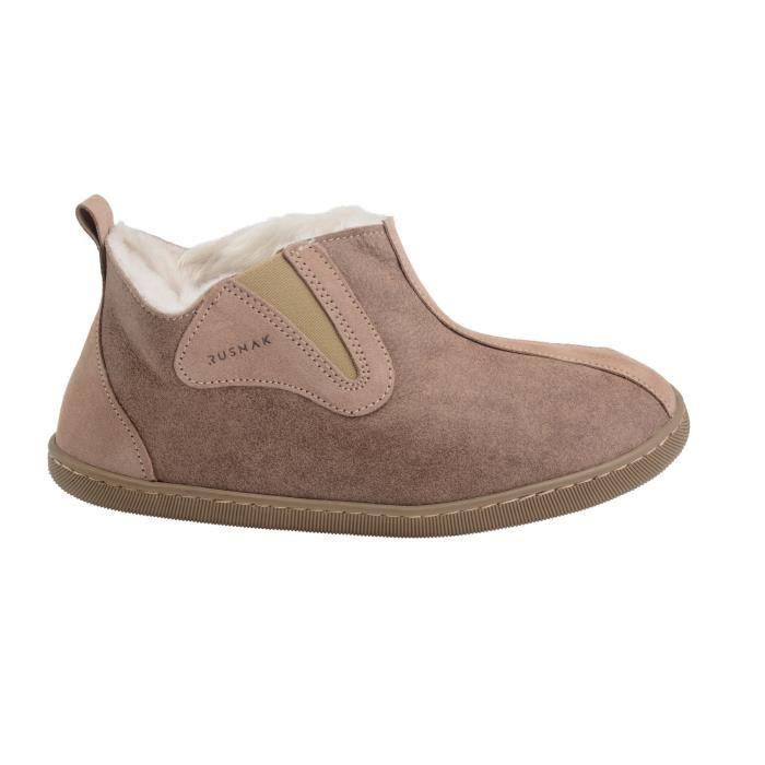Chaussures Mouton Hommes Peau Pantoufles De Luxe Chaussons Femmes TqFRqI0