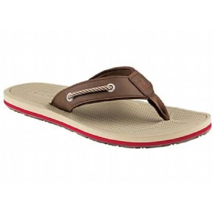 Sperry Vêtements Hommes, Pensacola Thong Sandal YC7FB Taille-40 1-2
