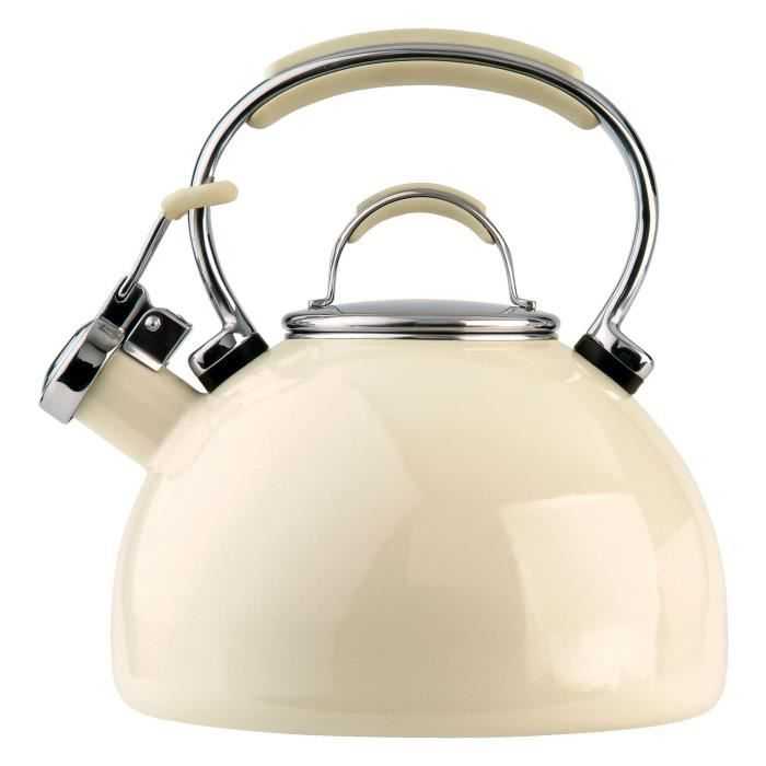 BOUILLOIRE Prestige 50559 Amande 2L Porcelaine Émail Cuisiniè