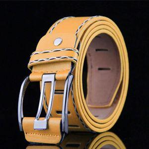 ... CEINTURE ET BOUCLE dedasing® Mode homme cuir lisse Ceinturon Boucle c  ... 6a2d1a1839e