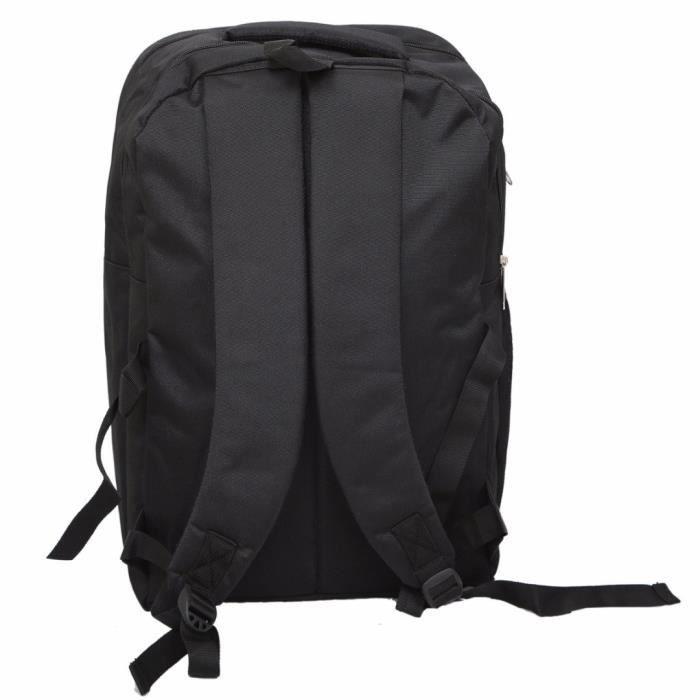 40 Ltrs hommes Grand sac dordinateur portable, bureau Sac à dos (noir) - Ki9033 RS74N