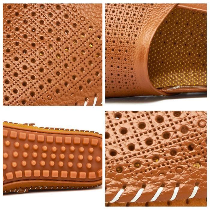 Marque Chaussures Cuir Classique Respirant Confortable En Supérieure Occasionnelles Homme Ultra blanc Mocassin Qualité De Marron Chaussure 0qnYpS8w