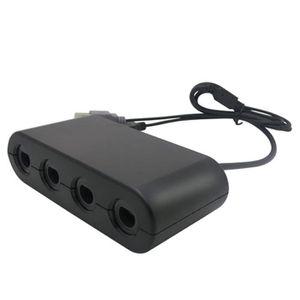 CONSOLE NINTENDO SWITCH Adaptateur de contrôleur USB 4 ports pour Super Sm