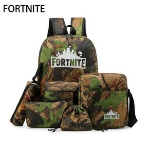 CARTABLE 5pcs Fortnite Jeu Fortress Night Multifonctionnel