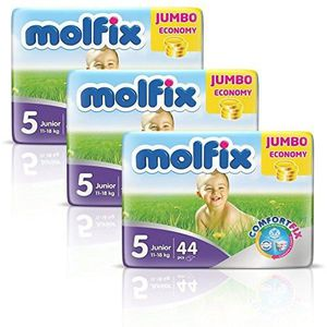 COUCHE Molfix - Couches Taille 5 (11-18kg/Junior) - Pack