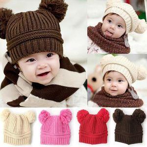 85daedc5d7c2 Bonnet laine cache oreille rouge enfant fille garçon - Achat   Vente ...
