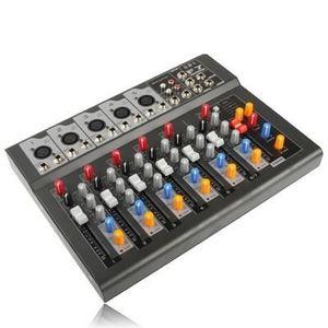 TABLE DE MIXAGE Table de mixage professionnel à 7 canaux et proces