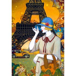 PUZZLE Puzzle 1000 pièces Paris Street