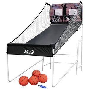 PANIER DE BASKET-BALL Panier de Basketball avec ballons et système éléct