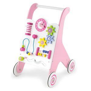 PORTEUR - POUSSEUR Chariot à pousser / Chariot de marche jouet éducat