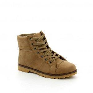 e75faea5a32a5f Chaussure Femme Basket montante … Camel Marron Camel - Achat / Vente ...