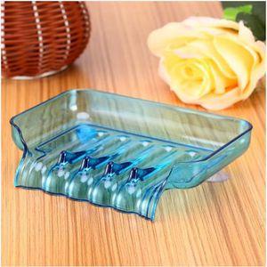 DISTRIBUTEUR DE SAVON Porte-savon Boîte en Plastique Avec Ventouses Sall