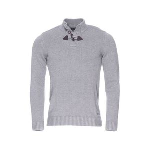 8e5fe22f4452d Pull Homme Teddy Smith Parbour Gris chiné - Achat   Vente pull ...