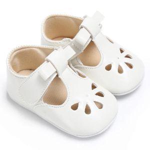 Frankmall®Bébé filles girl bowknot sandales Chaussures Casual semelle anti-dérapante Soft Sole BLEU #WQQ0926056 4b3Unv
