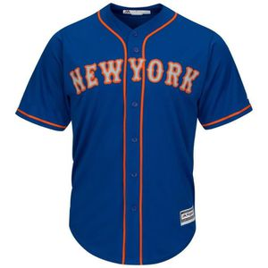 15cf055d69f0bd MAILLOT DE BASEBALL Majestic Authentic Cool Base Jersey - New York Met
