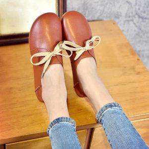 SLIP-ON Flats Ladies Comfy Ballet Chaussures souples Casua